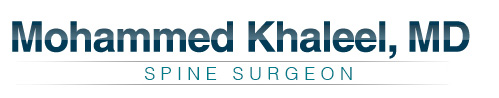 Mohammed Khaleel, MD - Orthopaedic Spine Surgeon